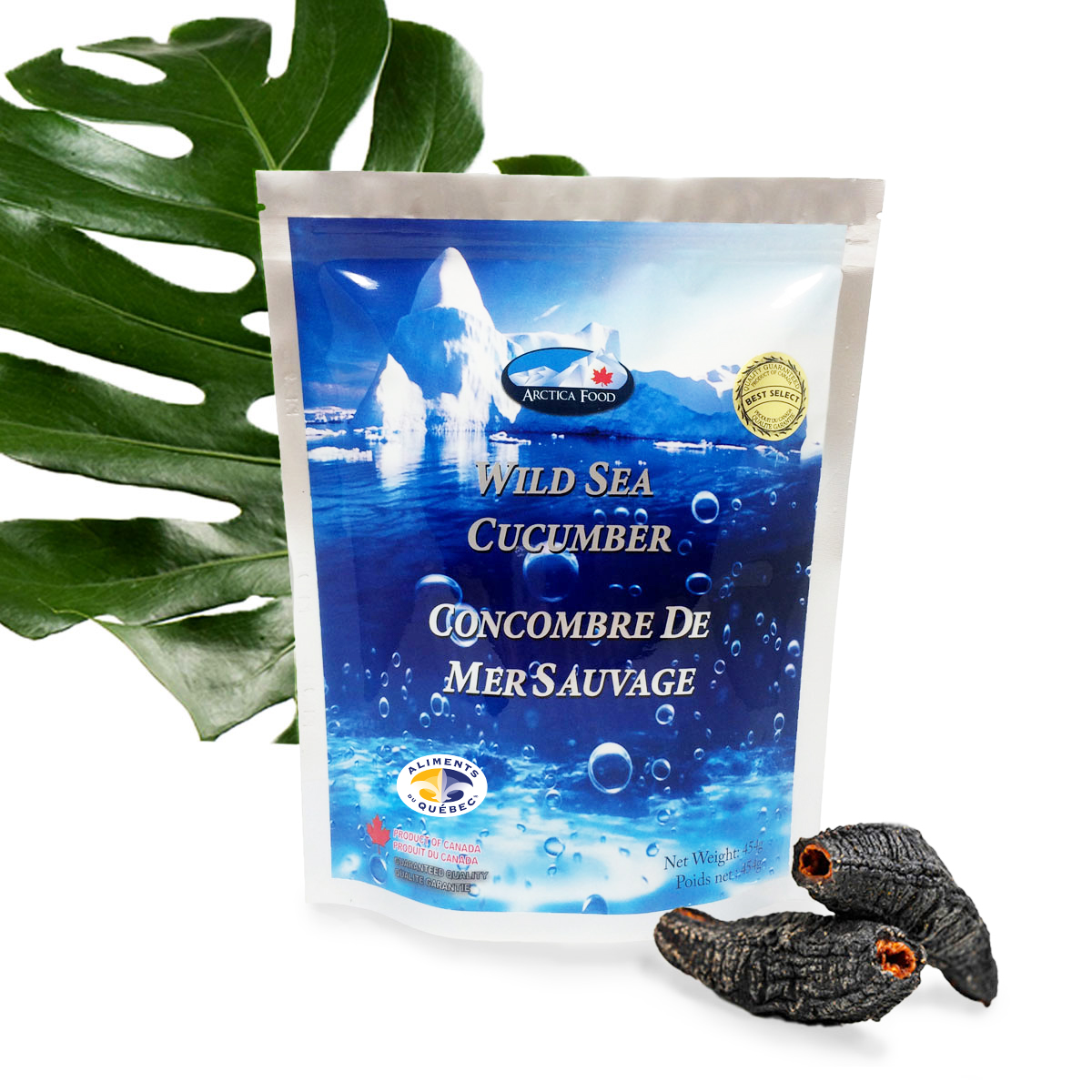 Dried Wild Sea Cucumber - Best & Select 454g