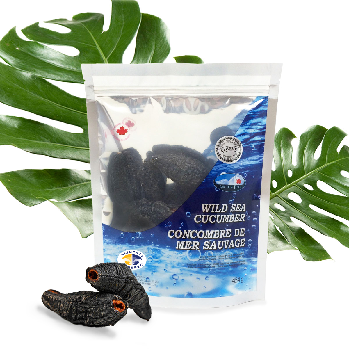Dried Wild Sea Cucumber - Classic 454g