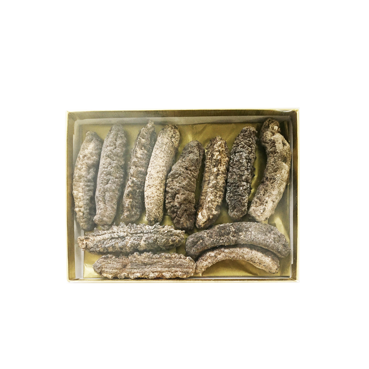 Dried Wild Sea Cucumber from the Caribbean, Medium Size 200g