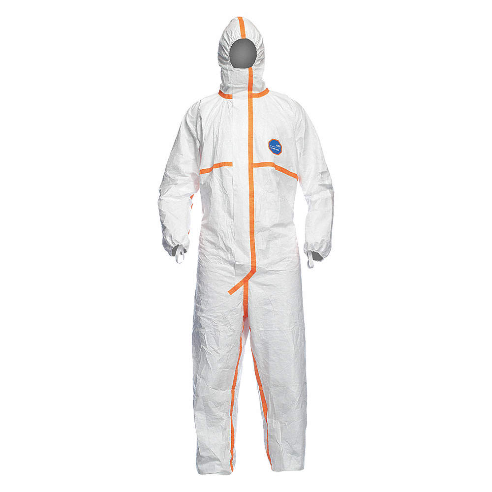 Dupont Tyvek 800J Chemical Protective Coverall Suit